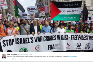 Andy-Slaughter-marching-against-Israel-with-Hafiz-al-Karmi-300x202