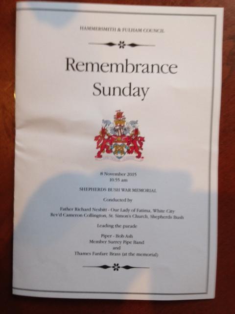 remembranceprogramme