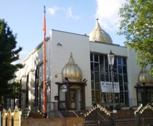 Central Gurdwara in Queensdale Road