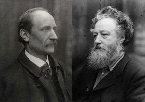 Emery Walker and William Morris.